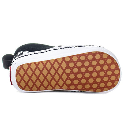 Vans Slip-On V Crib - (Checkerboard) Black/True White