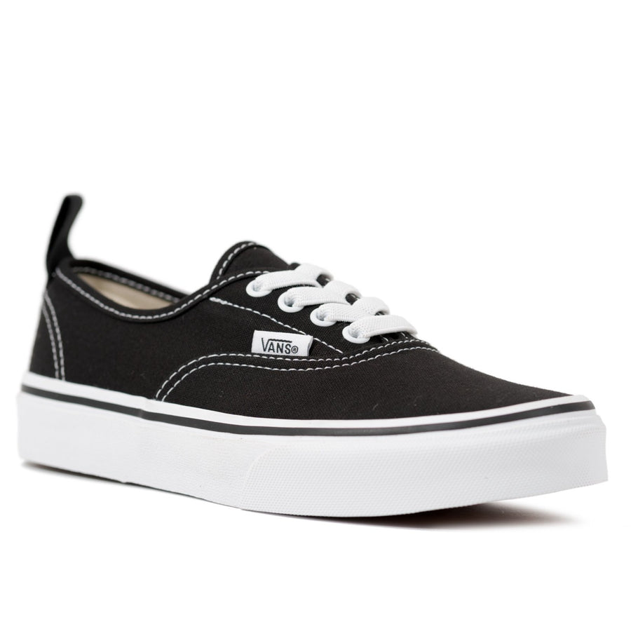 Vans Authentic Elastic - (Elastic Lace) Black/True White