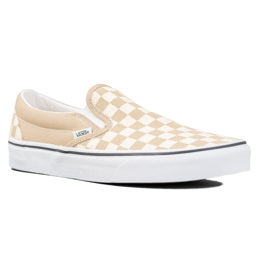 Vans Slip-on (Checkerboard) - Cornstalk/True White
