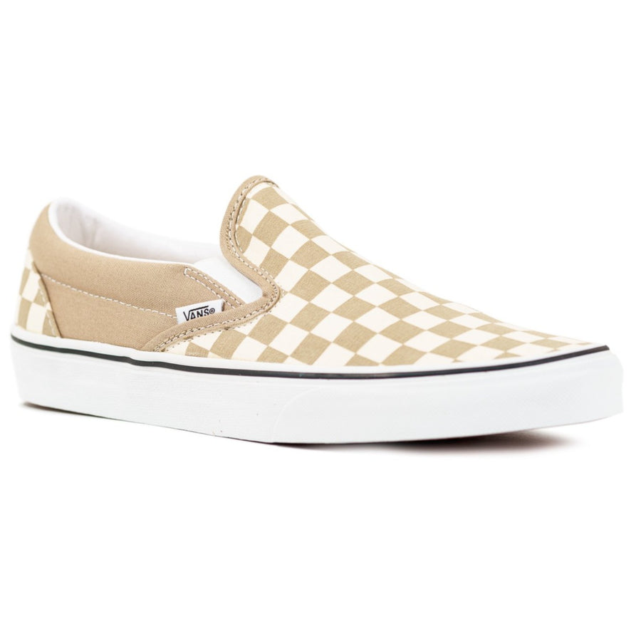 Vans Slip-on (Checkerboard) - Incense/True White