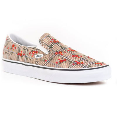 Vans Glen Plain Floral Slip-on - Embroidery/True White