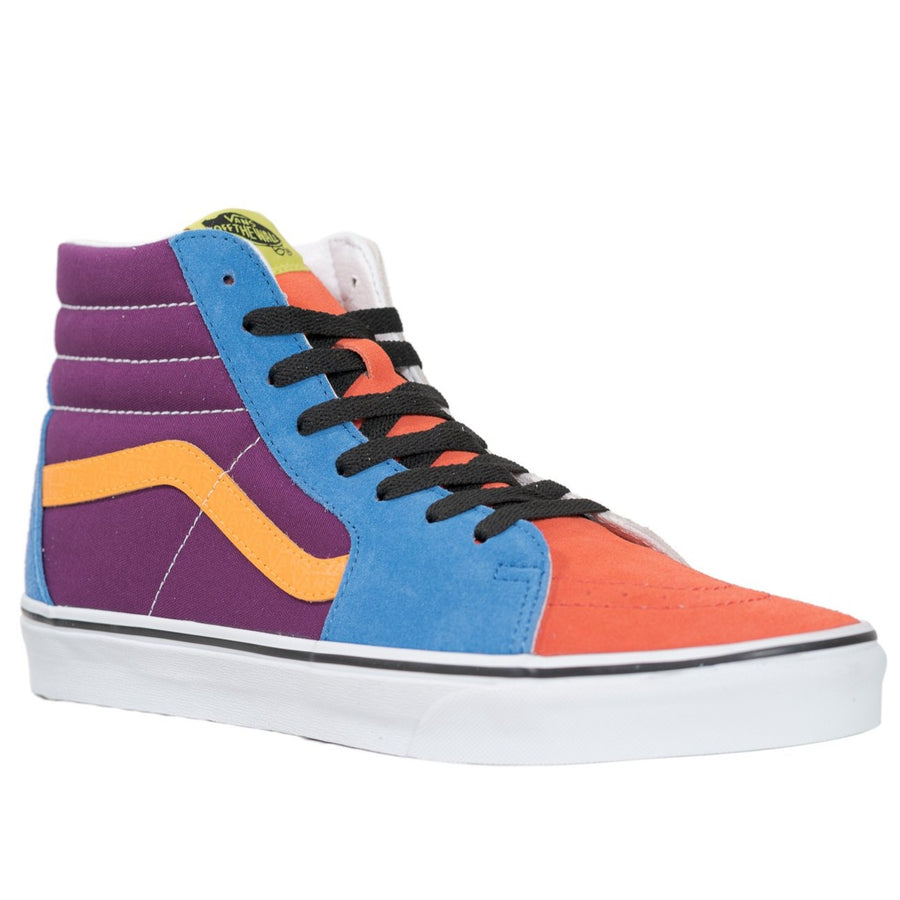 Vans Sk8-Hi - (Mix & Match) Grape Juice/Bright Marigold