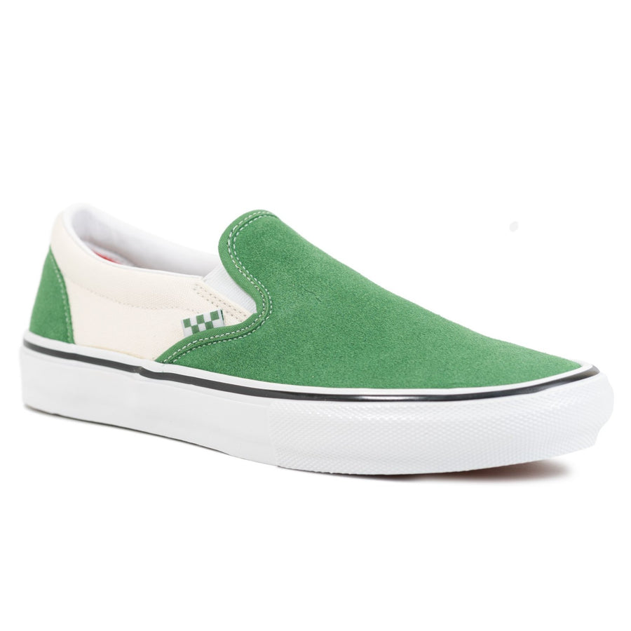 Vans Skate Classic Slip-On Pro - Juniper/White