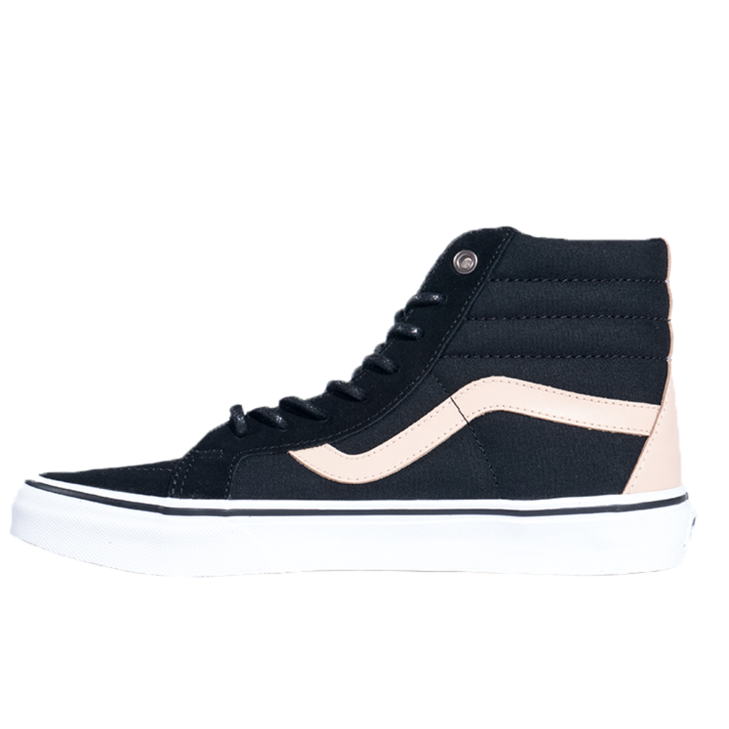 Vans SK8-Hi Reissue (Veggie Tan) - Black/True White