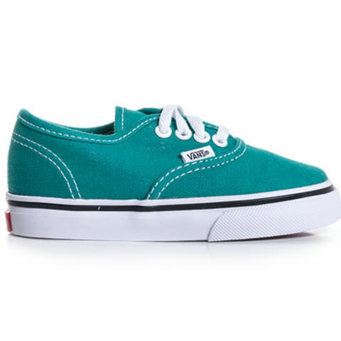 Vans Authentic - Teal Blue/True White