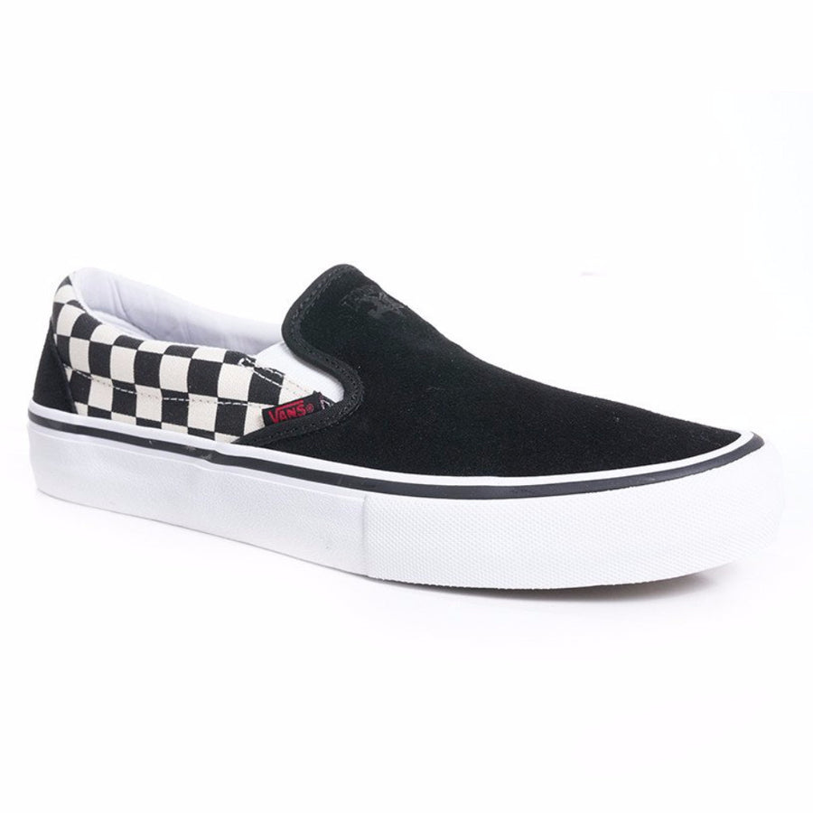 Vans x Thrasher Slip-On Pro - Black/Checkerboard