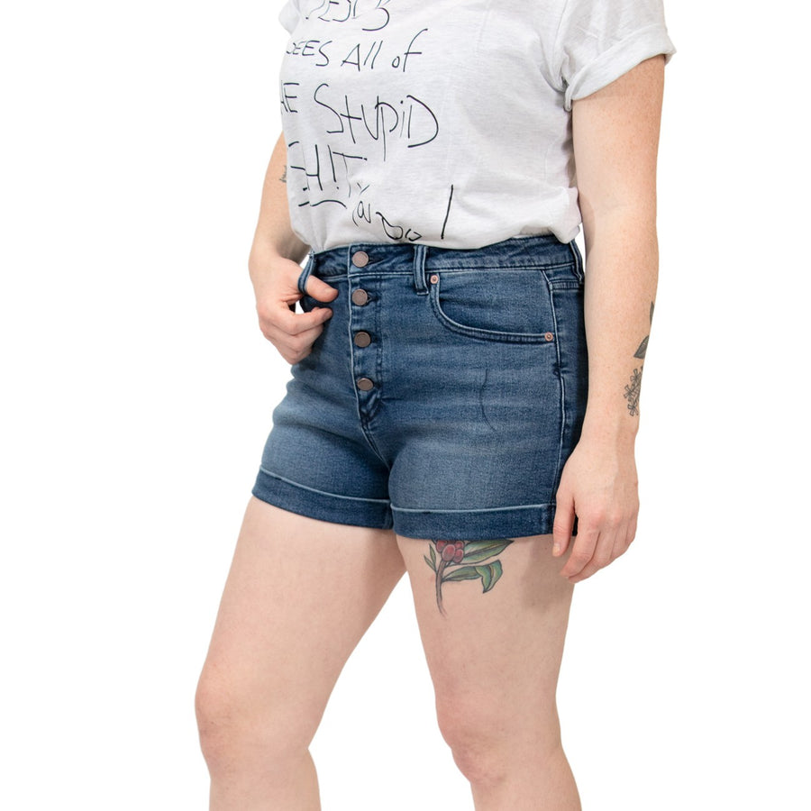 Volcom Vol Stone Shorts - Marina Blue