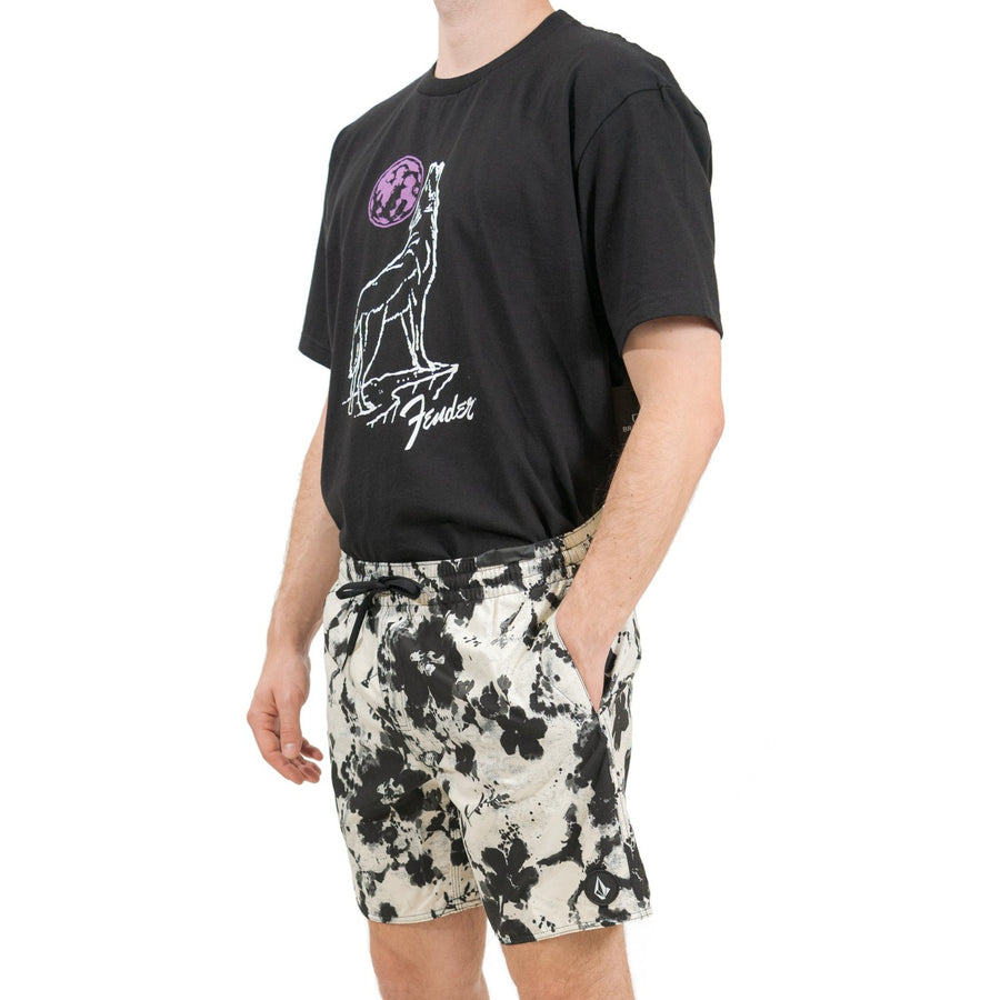 Volcom Submerger Trunks - White Flash (WHF)