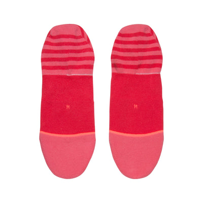 Stance Uncommon Invisible Socks - Red