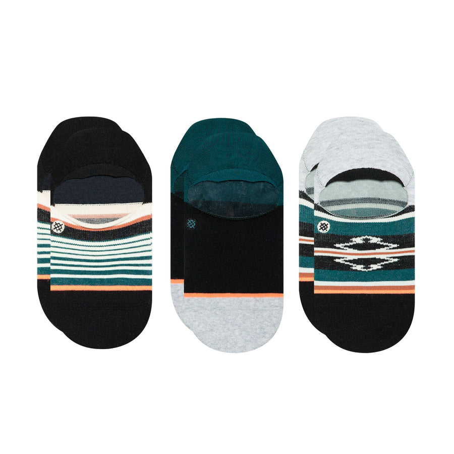 Stance Savannah 3-Pack Super Invisible Socks - Multi