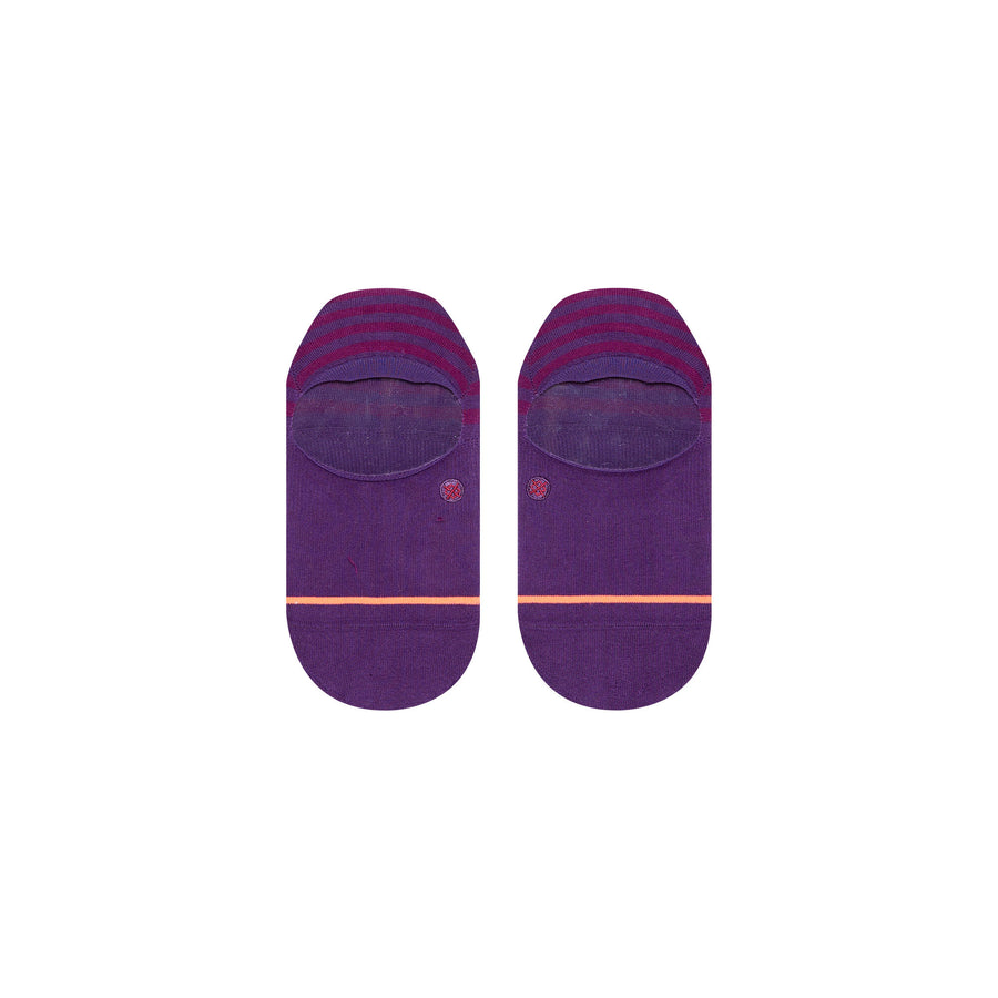 Stance Sensible Super Invisible Socks - Purple