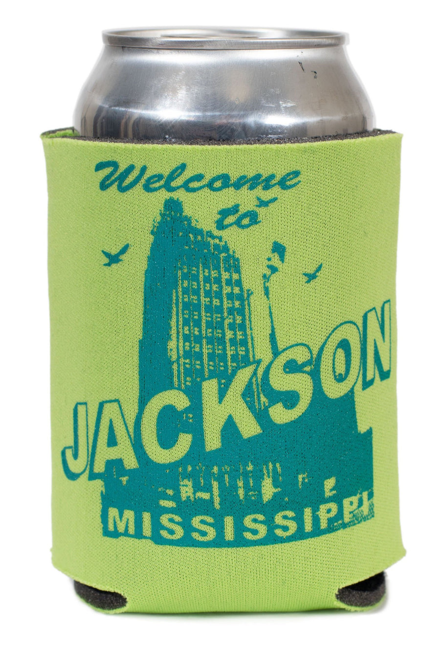 Welcome to Jackson, Mississippi Koozie