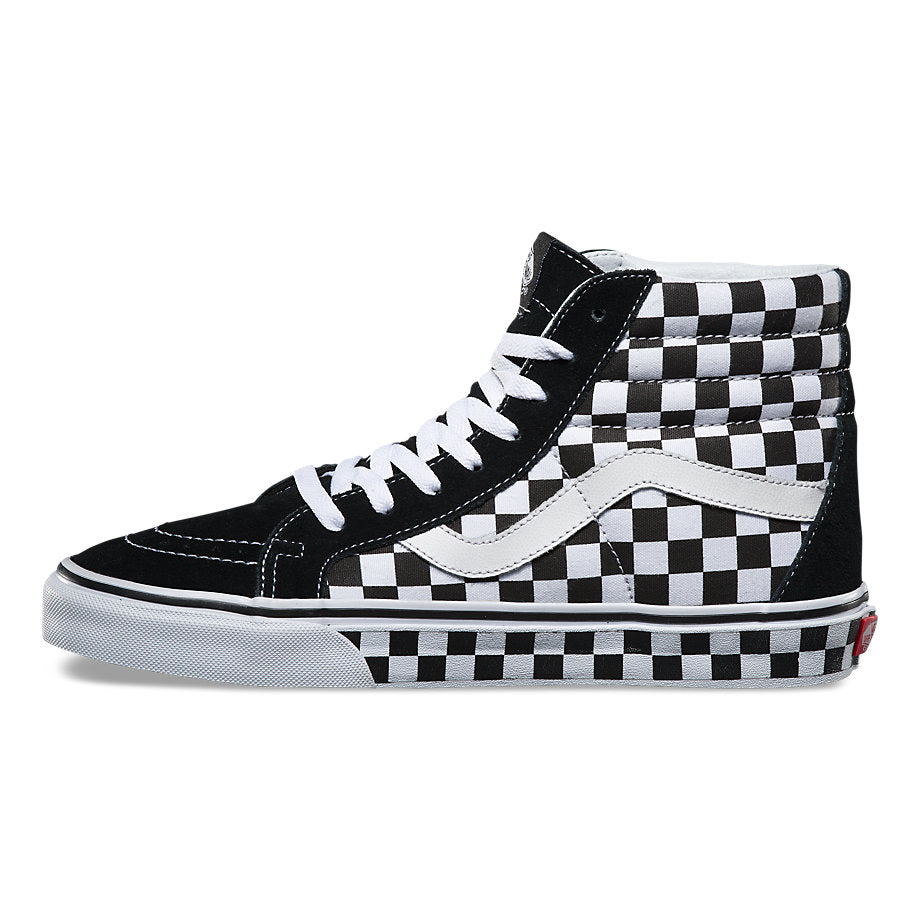 Vans SK8-Hi Reissue (Checkerboard) - Black/White/Check