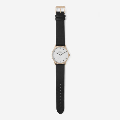 Breda Watch - Bresson - Rose Gold/Black (5020e)