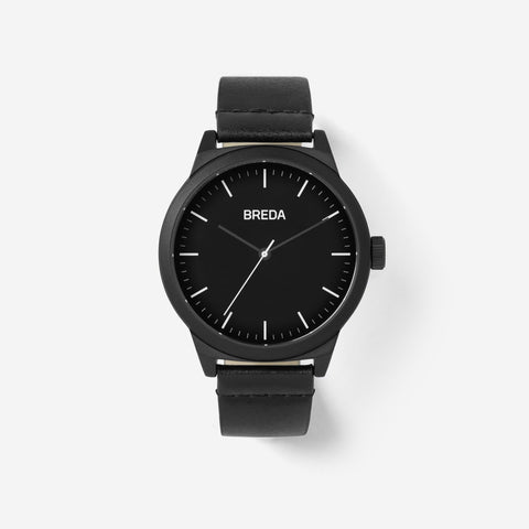 Breda Watch - Rand - Black/Black (8184H)