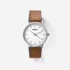 Breda Watch - Zapf - Sliver/Light Brown (1697C)