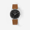 Breda Watch - Zapf - Silver/Brown (1697J)