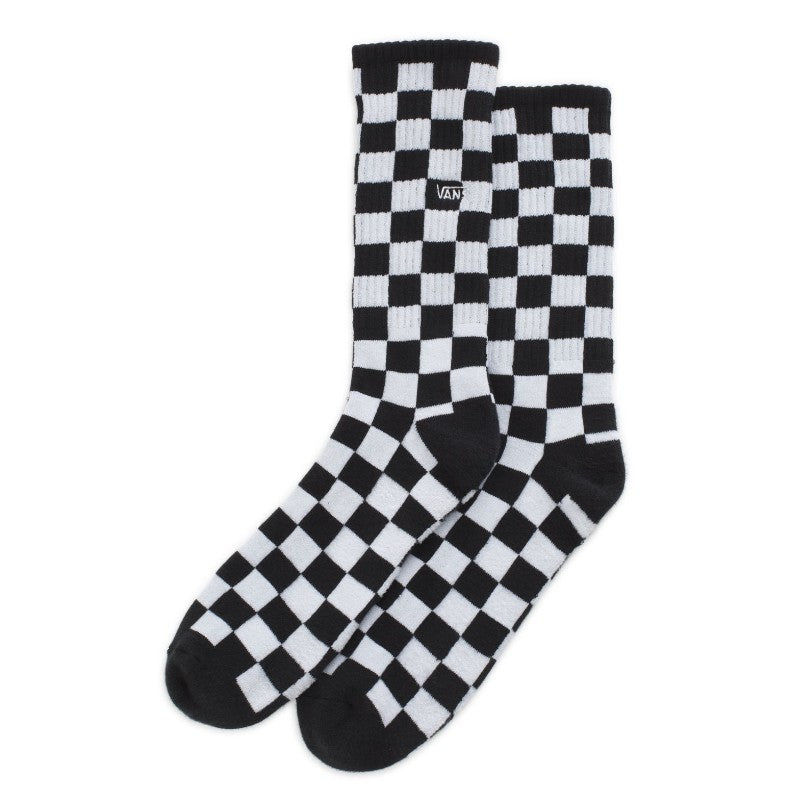 Vans Checkerboard Crew II Sock - White/Black