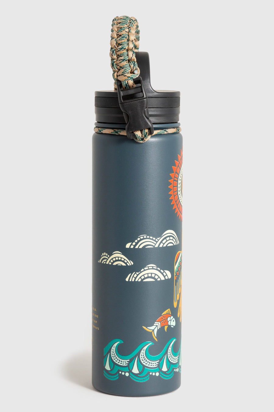 United By Blue Ecosystem 22oz Stainless Steel Bottle