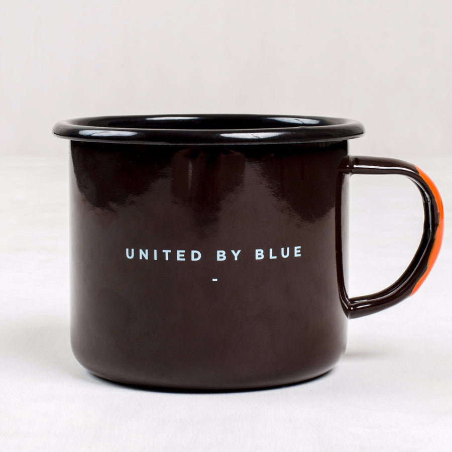 United By Blue 22 oz. And I Must Go Enamel Steel Mug