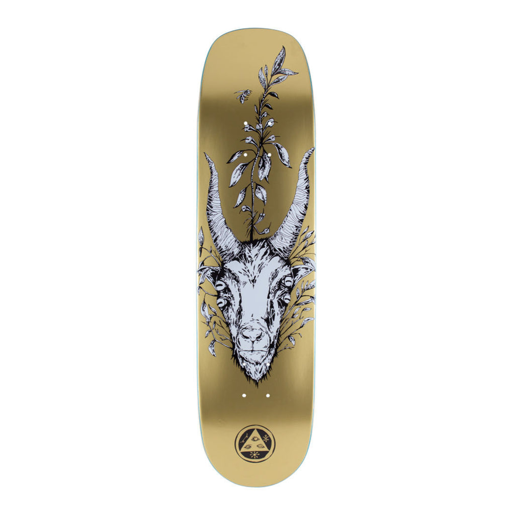 Welcome Goathead on Phoenix Skateboard Deck 8