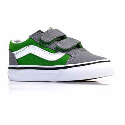 Vans Old Skool V (Pop) Online Lime/Frost Grey