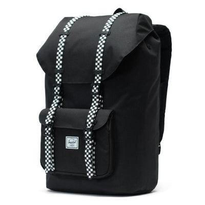 Herschel Little America Backpack - Black/Checkerboard