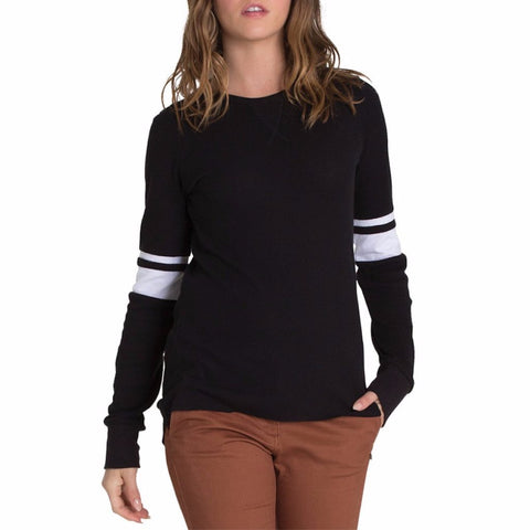 Element Memories Long Sleeve Thermal Tee - Black