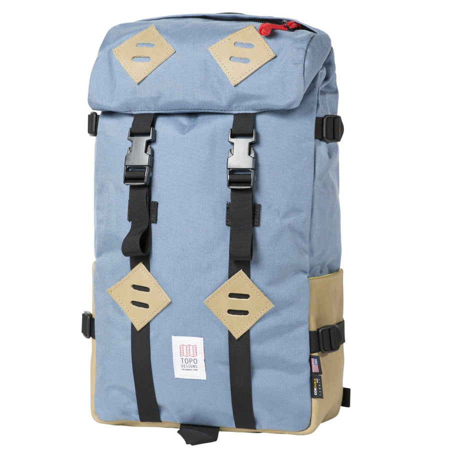 Topo Designs Klettersack - Storm/Khaki Leather