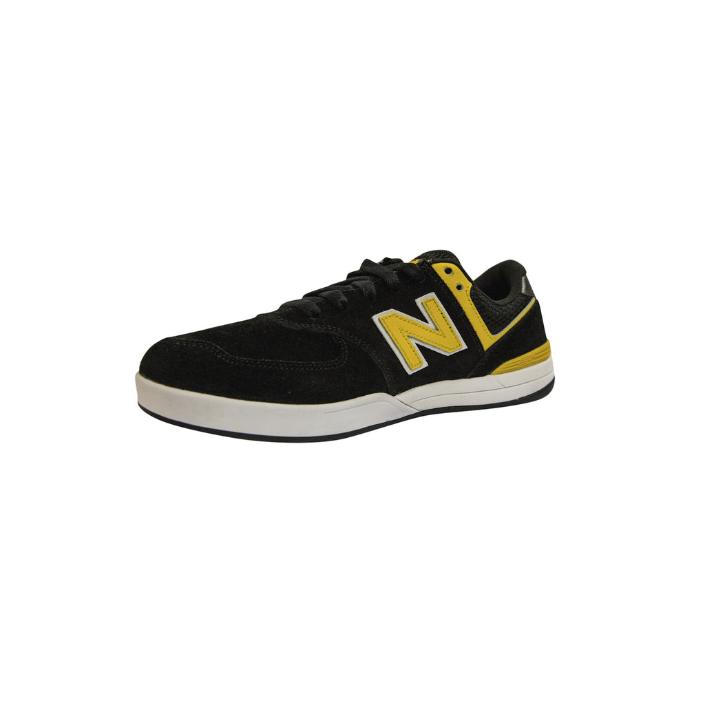 New Balance Numeric Logan 636 - Black/Yellow YBW