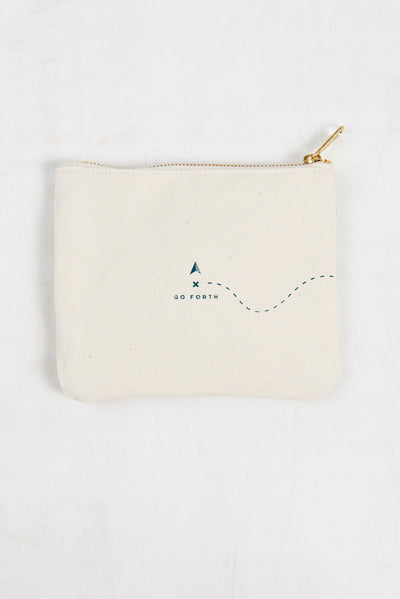 United By Blue Go Forth Canvas Pouch