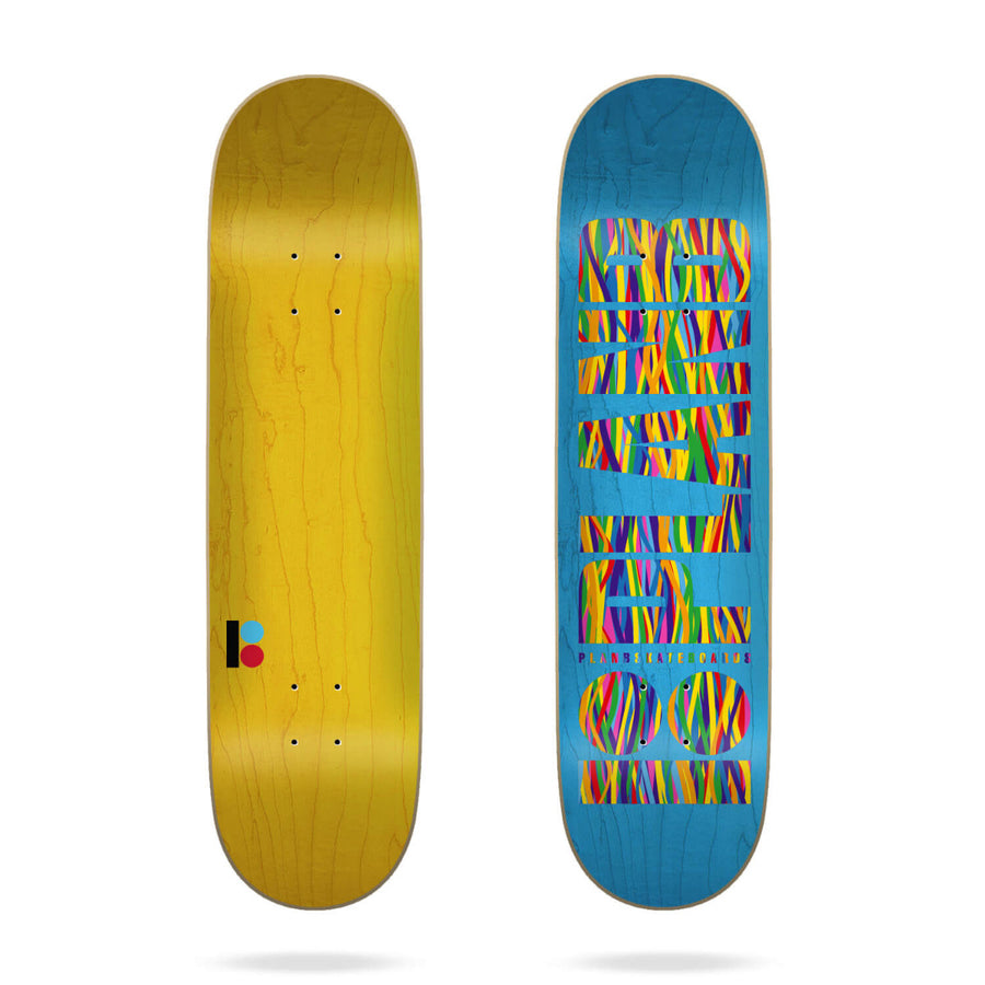 Plan B Team Og Sheffy Skateboard Deck - 8