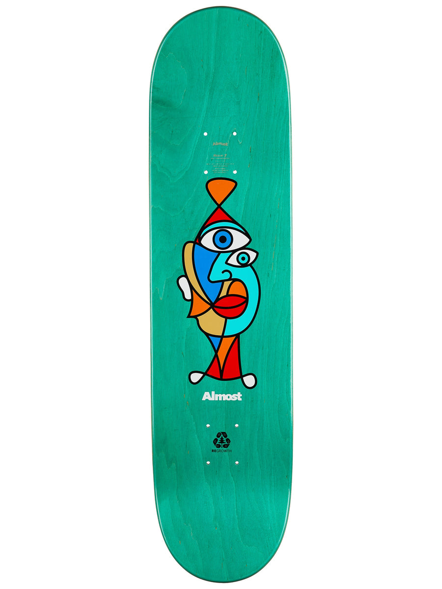 Almost Youness Twisted Skateboard Deck - 8.0