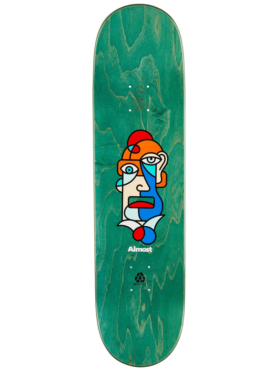 Almost Yuri Twisted Skateboard Deck - 8.375