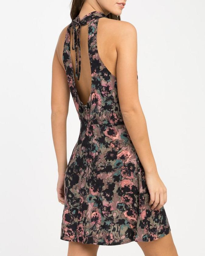 RVCA Kingsman Floral Dress
