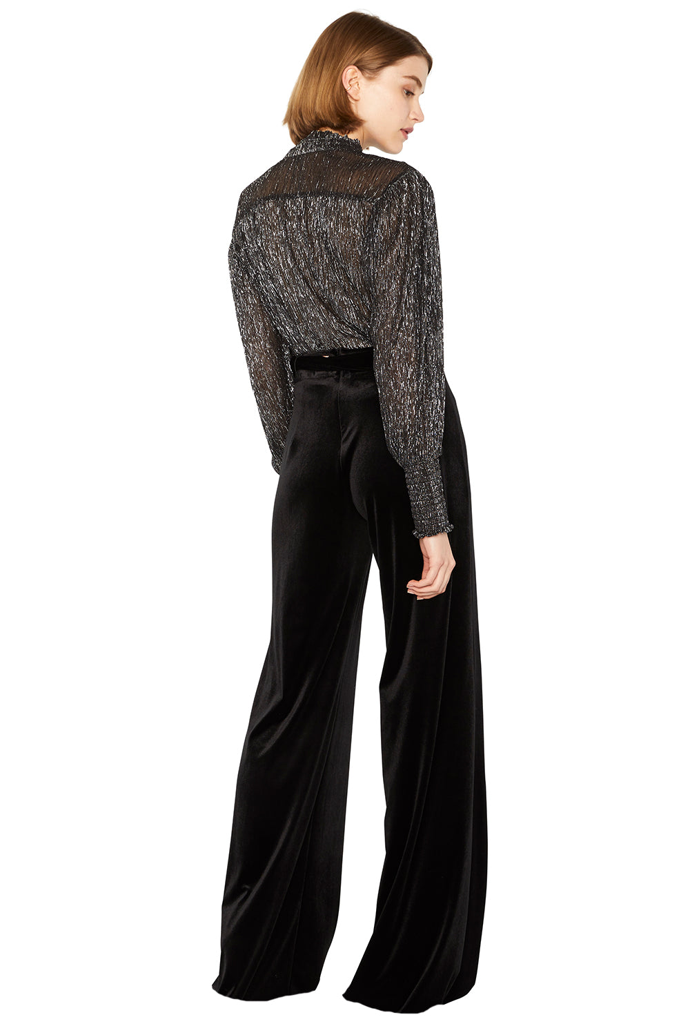 ALIYA VELVET PANTS - MISA Los Angeles