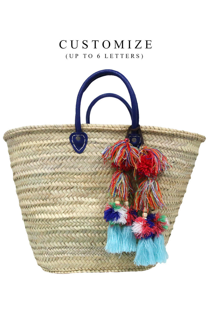 Marrakesh Bag - Customize up to 6 Letters<br>Sold with Milla Pompom - Misa Los Angeles - 1