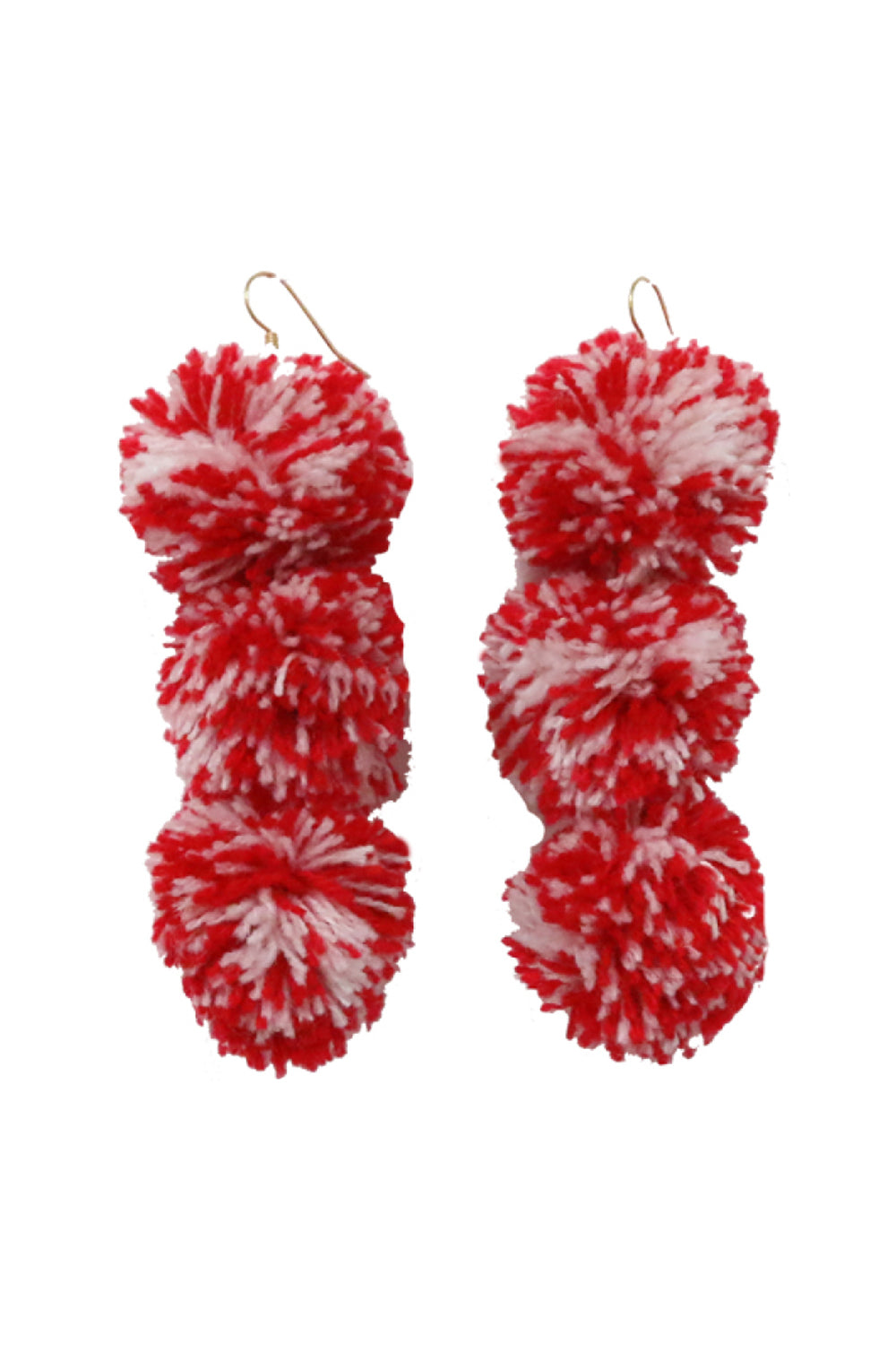 Caprice Daiquiri Pompom Earrings - MISA Los Angeles