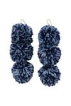 Caprice Fontelina Pompom Earrings - MISA Los Angeles