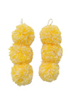 Caprice Mimosa Pompom Earrings - MISA Los Angeles