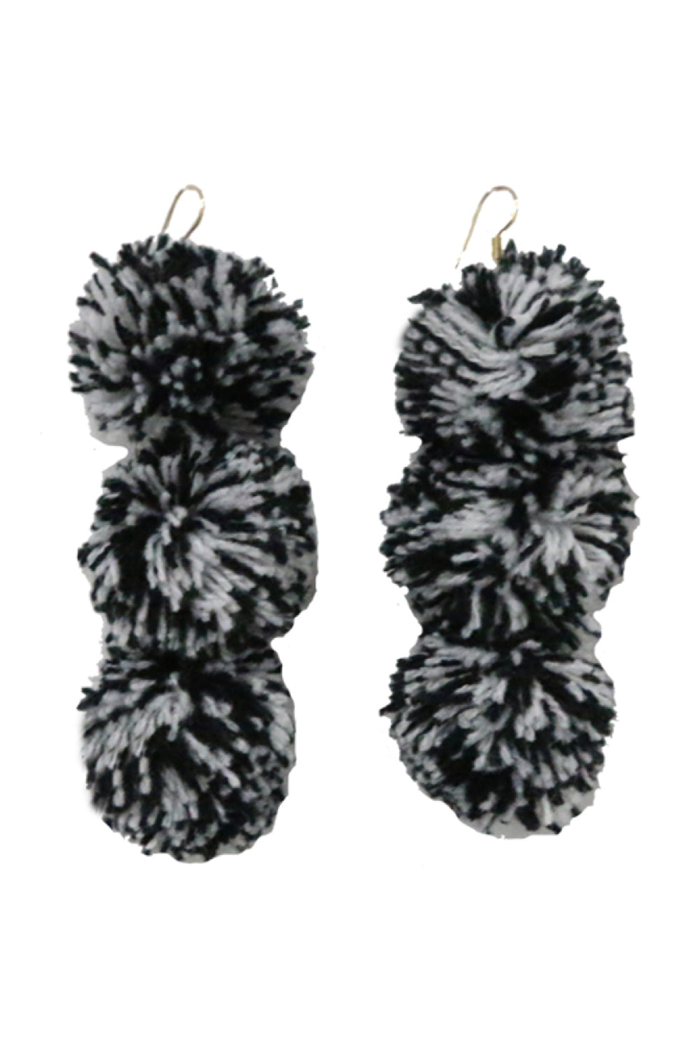 Caprice Starry Night Pompom Earrings - MISA Los Angeles