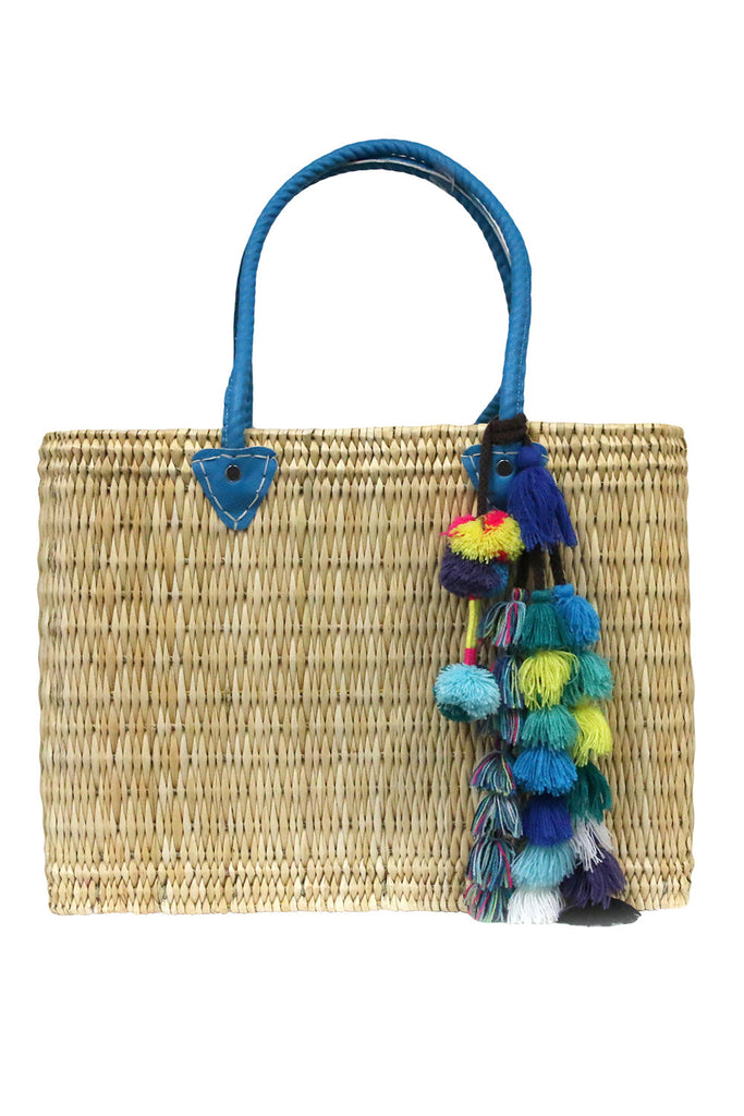 Jane Box Bag, Large Solid <br>Sold with Sayeh Pompom