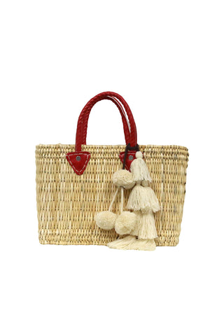 Jane Large Box Bag With Flavia Pompom
