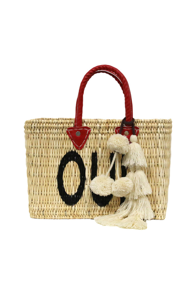 Jane Box Bag, Small - Oui<br>Sold with Flavia Pompom