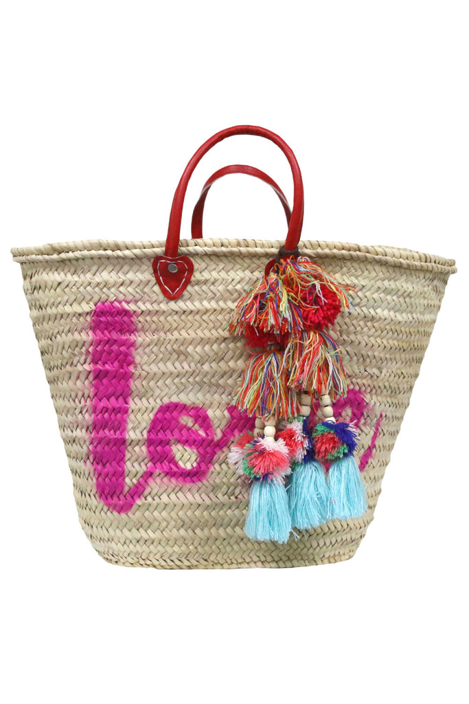 Marrakesh Bag - Love<br>Sold with Milla Pompom - Misa Los Angeles - 1