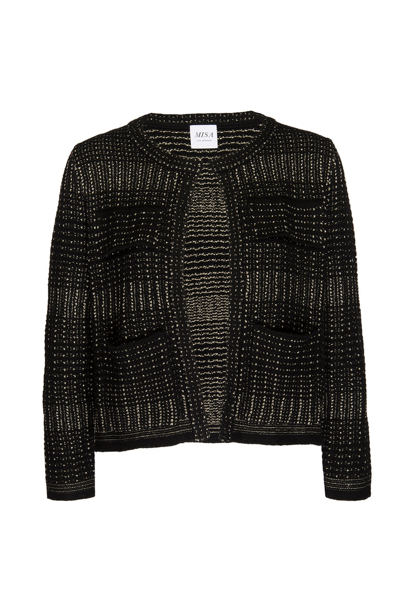 NAHILA KNIT JACKET - MISA Los Angeles