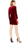 OPHELIE VELVET DRESS - MISA Los Angeles