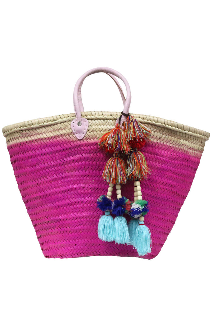 Marrakesh Bag - Dipped Pink<br>Sold with Milla Pompom - Misa Los Angeles - 1