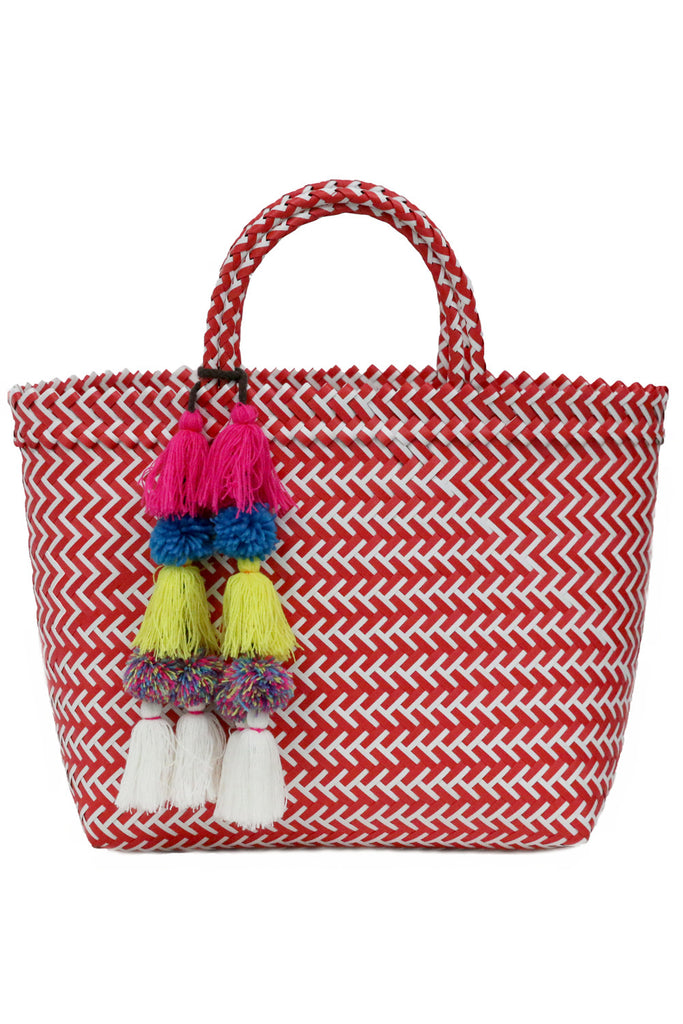Mercado Tote <br>Sold with Adina Pompom - Misa Los Angeles - 1
