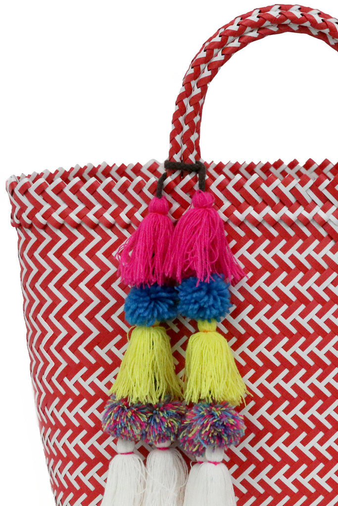 Mercado Tote <br>Sold with Adina Pompom - Misa Los Angeles - 2